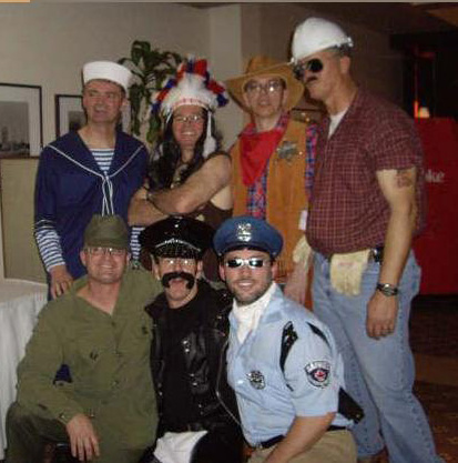Village People - party 2008 client Huot