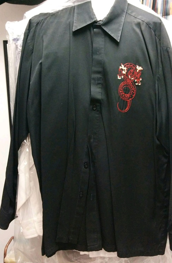 Chemise style chinois ** à vendre $6.00 **