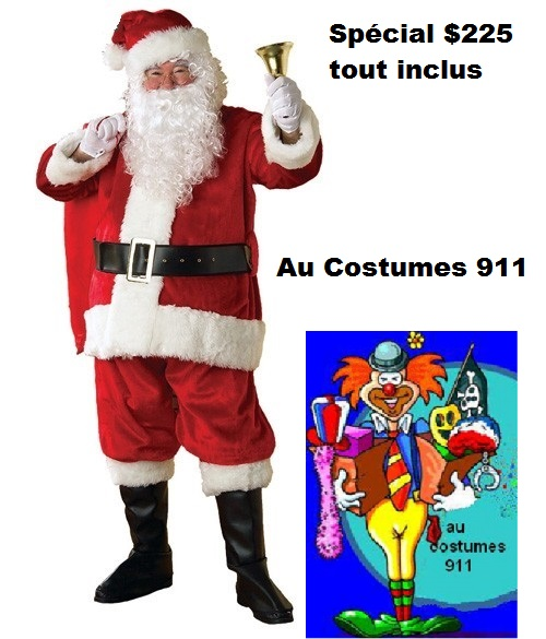 À VENDRE PERE NOEL DELUXE NEUF XXL COMPLET $225.00